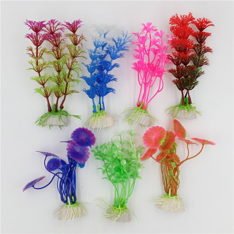 1 pcs Plastic Aquarium Plants Plantas Artificial Wonder Fish Plant Accessories Aquario Ornament Decor(China (Mainland))