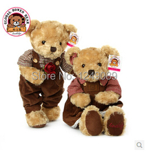 45cm couple teddy bear with high quality wedding gift valentine gift