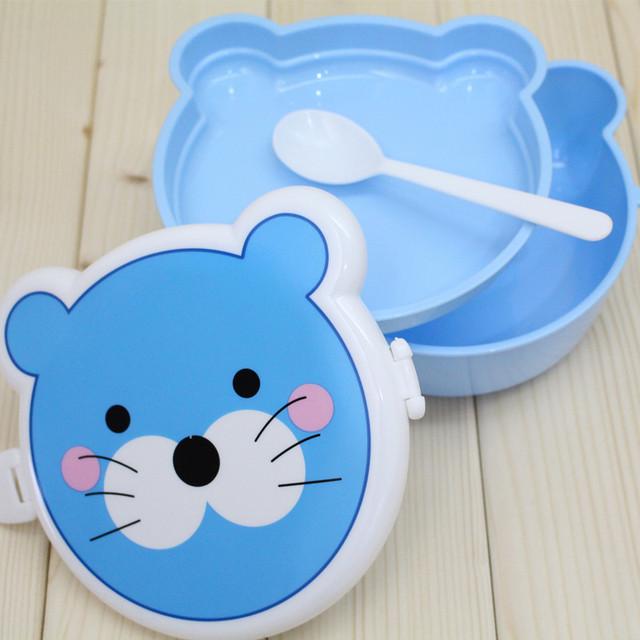 Animal Plastic Lunch Box for Children