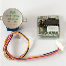 Buy Stepper Motor 28byj-48 Gear DC 5V 4-Phase 5-Wire Geared Stepper Motor + ULN2003A Driver Board Set Controlador Module Arduino for $2.01 in AliExpress store