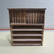 Wooden Cabinet Antique Ornament Handmade Home Furnishing Living Room Mini Furniture Model New(China (Mainland))