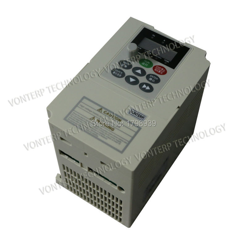 3 phase 380V 1.5KW MINI Frequency Inverter 1.5KW/ Vfd 1.5kw vector control<br><br>Aliexpress