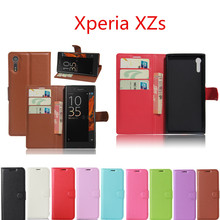 Buy Sony Xperia XZs G8231 Case 5.2inch Luxury Leather Wallet Cover Case Sony Xperia XZs Dual G8232 Phone Bag Cases for $3.00 in AliExpress store