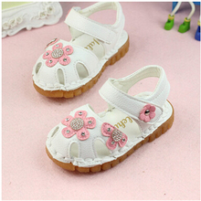Free shipping Baby Shoes 2016 Spring and Autumn Baby  Girls shoes soft Bottom non-slip shoes for Children   First Walkers  0016(China (Mainland))