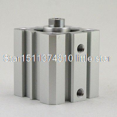AIRTAC Type Single Acting Pull Type STAS100-15 Compact Cylinder <br><br>Aliexpress