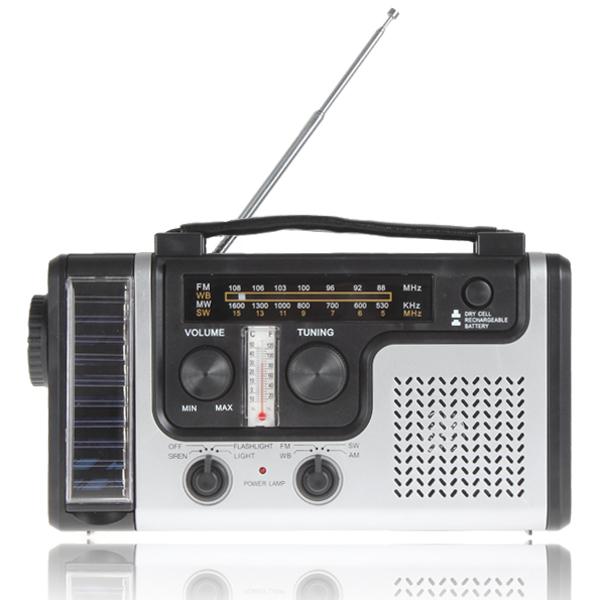 Portable Mini Crank Solar Emergency AM FM SW Shortwave Radio Receiver with Flashlight/ Solar light charger, .(China (Mainland))