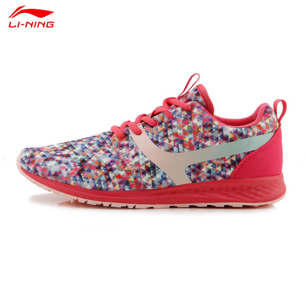 Li-Ning 2016 Summer Women Breathable Cushioning Sport Shoe Colorful Broad Way92 Female Running Shoe ALTK006(China (Mainland))