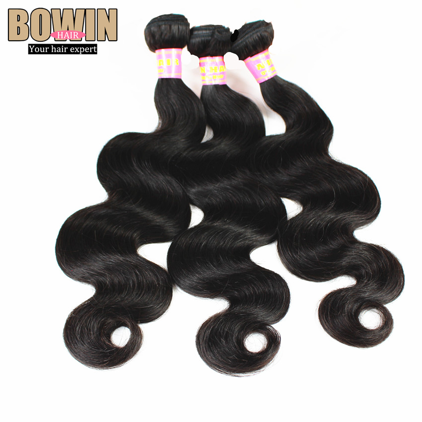 On Sale Grade 6A Unprocessed Virgin Indian Hair Body Wave 4pcs lot Can be dyed Virgin Hair Bundles Color 1B<br><br>Aliexpress