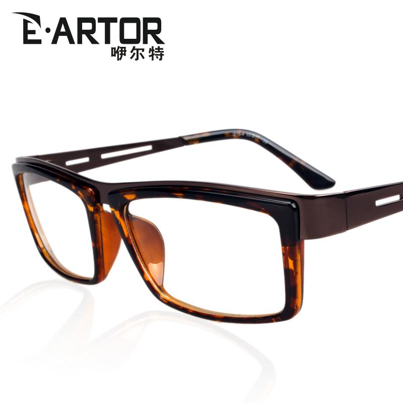 Glasses Frame Decoration : Free shipping E . artor male Women fashion vintage black ...