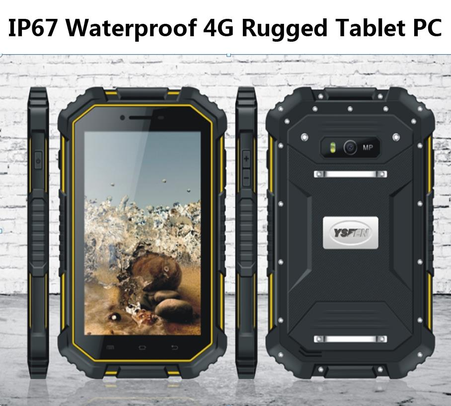 "Top china brand mini PC Android outdoor tablet PAD IP67 waterproof mobile phone quad core 4G LTE 7"" inch 8MP2GB 16GB netbook T70(China (Mainland))"