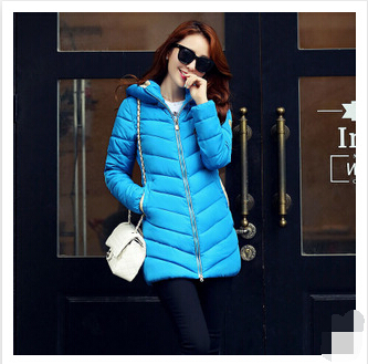 Winter Cotton - padded Clothes Female Long Slim Thick Padded European American Style Women Thin Coat Flamboyant Women's World store