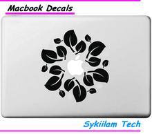 Buy Fresh Tree Leaf Logo Apple Decal Macbook Skin Air 11 13 Pro 13 15 17 Retina Computer Laptop Wall Vinyl Creative Sticker for $5.99 in AliExpress store