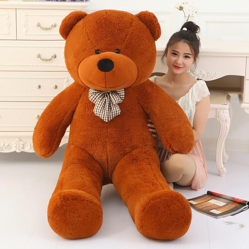 big sale giant teddy bear 220cm huge large big stuffed toys animals plush life size. Black Bedroom Furniture Sets. Home Design Ideas