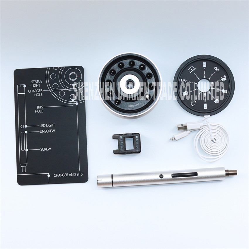 Заряжаемая электрическая отвертка с светодиодный свет вперед обратного aeProduct.getSubject()
