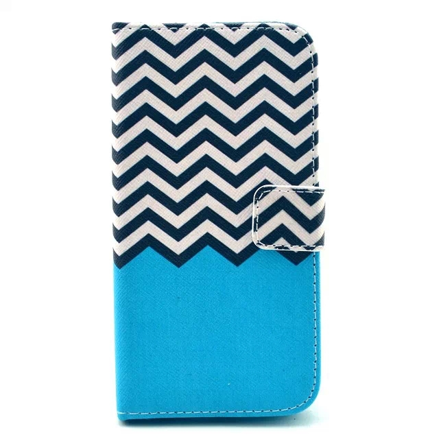 Printed Pattern Wallet Case Leather Cover for LG G3 Beat / G3 Mini(China (Mainland))