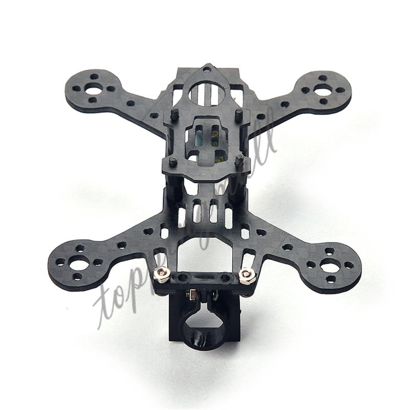 Happymodel Toad 85 Full Carbon Fiber Frame 2mm Thickness / 85mm wheelbase FPV Brushless RC Racing Mini Quadcopter Drones Frame