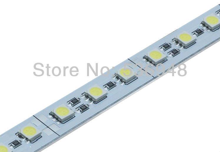 36Leds/50CM SMD 5050 Led Hard Rigid Pixels Strip Alluminium Alloy Coat Lightbar hard led strip led jewelry cabinet led strip(China (Mainland))