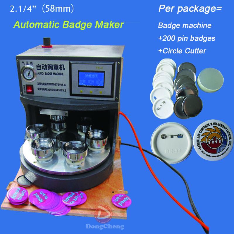 pin badge maker machine