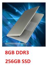 14inch notebook laptop computer J1900 quad core 8GB DDR3 RAM 256GB SSD HD screen bluetooth USB 3.0 Windows 8.1 notebook(China (Mainland))