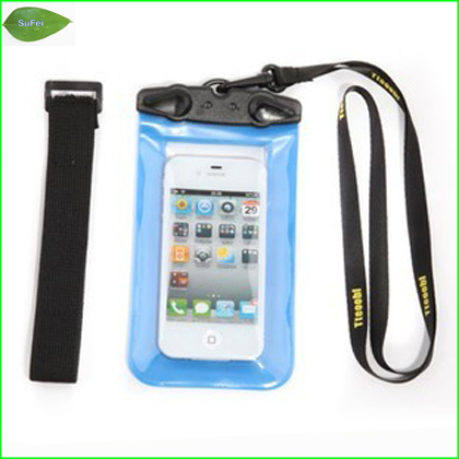 PB01-P Phone Waterproof  Bag Travel Transparent waterproof Pouch tearproof  Case For 2.8~4.5inch mobile phone free shipping