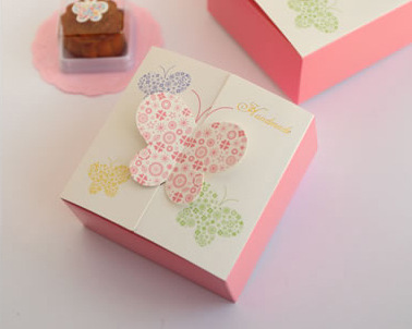 Butterfly Candy Favor Cookie Box, Party Wedding Bakery Gift Cup Cake Box CH-5021212(China (Mainland))