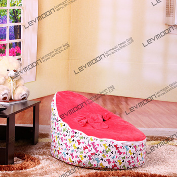 FREE SHIPPING baby bean bag chair with 2pcs red up cover baby bean bag seat kids bean bag bean bags baby free shipping(China (Mainland))