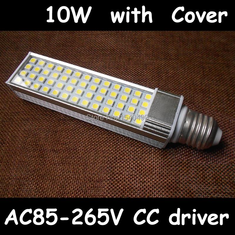 2 x E27 PL LED Corn Light Bulb 10W PL E27 LED Side Lamp 110V 120V 220V 230V 240V PLC LED E27 Plug Lampada(China (Mainland))
