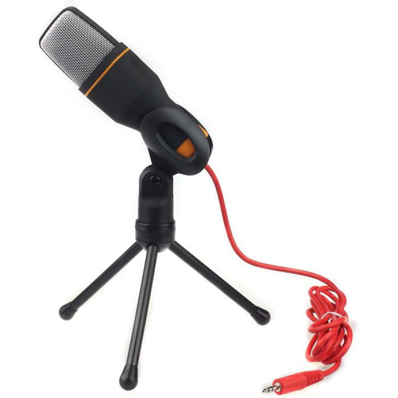 Adroit Condenser Sound Studio Microphone Mic For Chat PC Laptop For Skype For MSN BK FEB3<br><br>Aliexpress