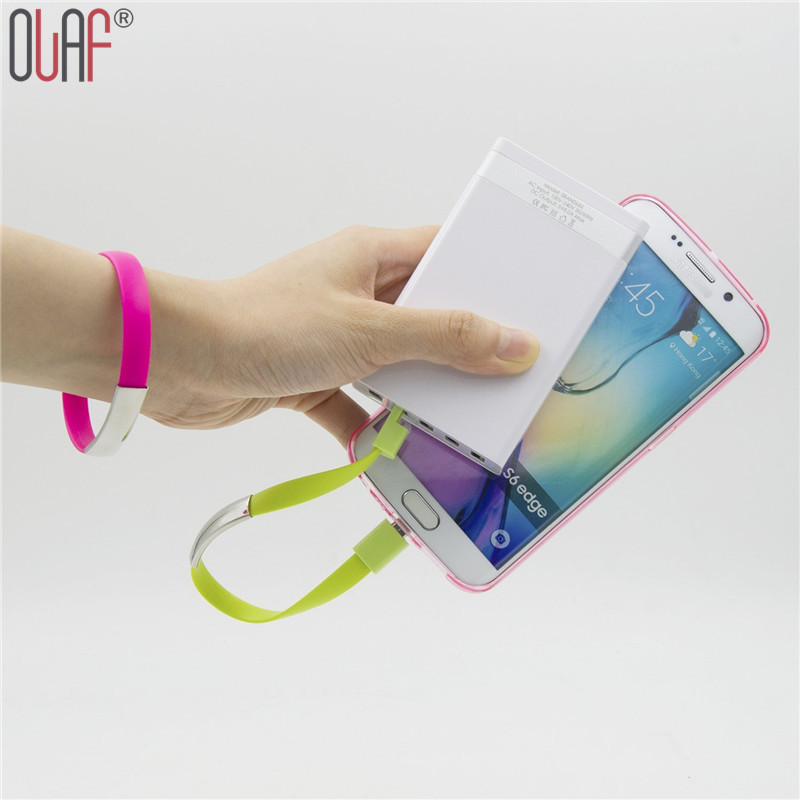 New Arrival Bracelet Charger Mobile Phone Cables Micro USB Cable Data Charging For Samsung Oneplus(China (Mainland))