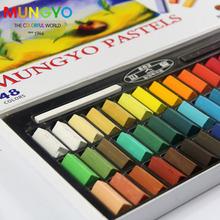 Живопись мелки мягких пастельных 24 / 32 / 48 / 64 Colors / Set искусства рисования комплект мел цвет волос карандаш кисть канцелярские для студентов
