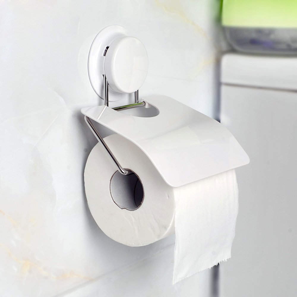 Suction Cup Wall Mounted Toilet Paper Holders Roll Holder