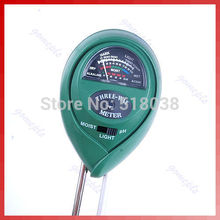 G104 hot-selling newest New 3 in1 Plant Flowers Soil PH Tester Moisture Light Meter hydroponics Analyzer Free Shipping