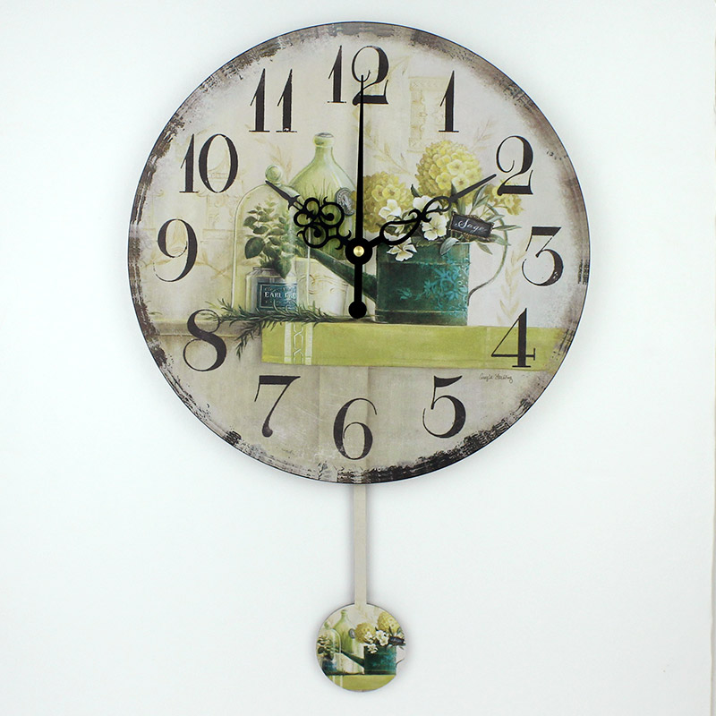 buy wholesale silent bedroom watch wall vintage home
