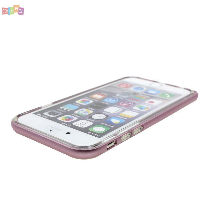 """Cell Phone Silicone Case Cover Metal Frame Bumper Protector For iPhone 6s 4.7""""(China (Mainland))"""