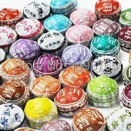 6 Kinds Flavors Grade AAAAA puer 20 year Chinese tea pu er Puer cha gao 1970