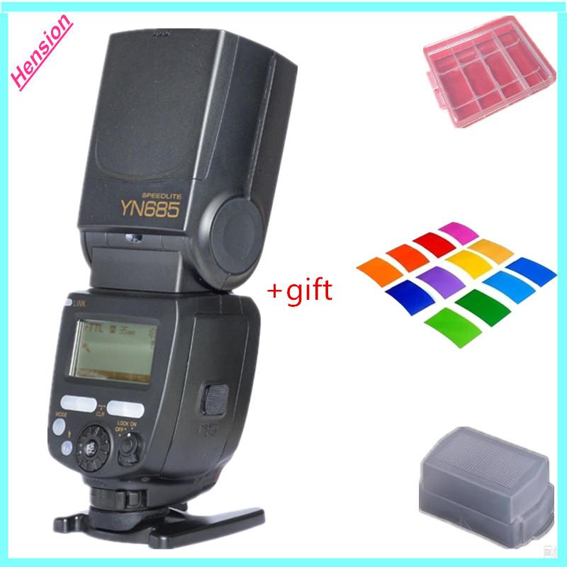 Yongnuo YN685 YN-685 GN60 2.4G System i-TTL HSS Wireless Speedlight Flash with Radio Slave For Nikon DSLR Cameras()