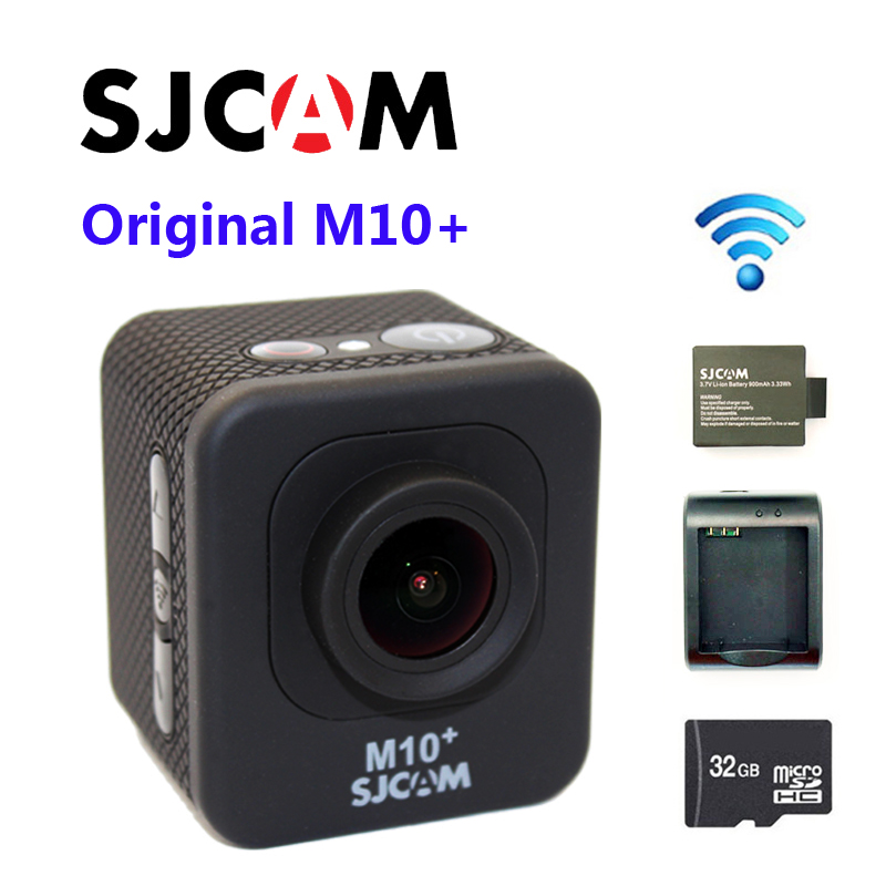 Free Shipping Original SJCAM M10 2K GYRO SPORT ACTION CAMERA WIFI NTK96660 CPU Extra 1pcs Battery