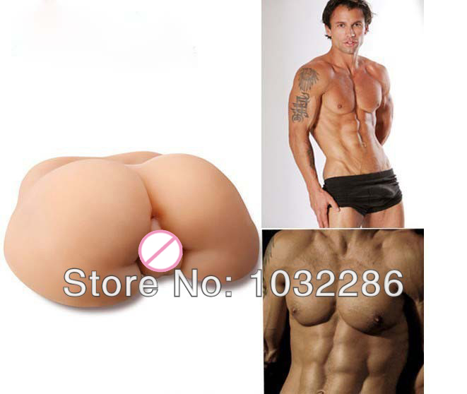 Big ass anus full silicone real skin sex toy for gay male love doll/dolls machines adult men masturbator porn sexy toys 7kg(China (Mainland))