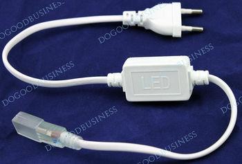 FREE SHIPPING! 3528 / 5050 SMD LED 220v  Strip Plug, LED Strip Accessory Special Plug Power supply plug