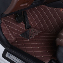 Full-surrounded car floor mats custom-made for Citroen C5 C-elysee Grand C4 Picasso 5 / 7 seats c-elysee car styling carpet(China (Mainland))