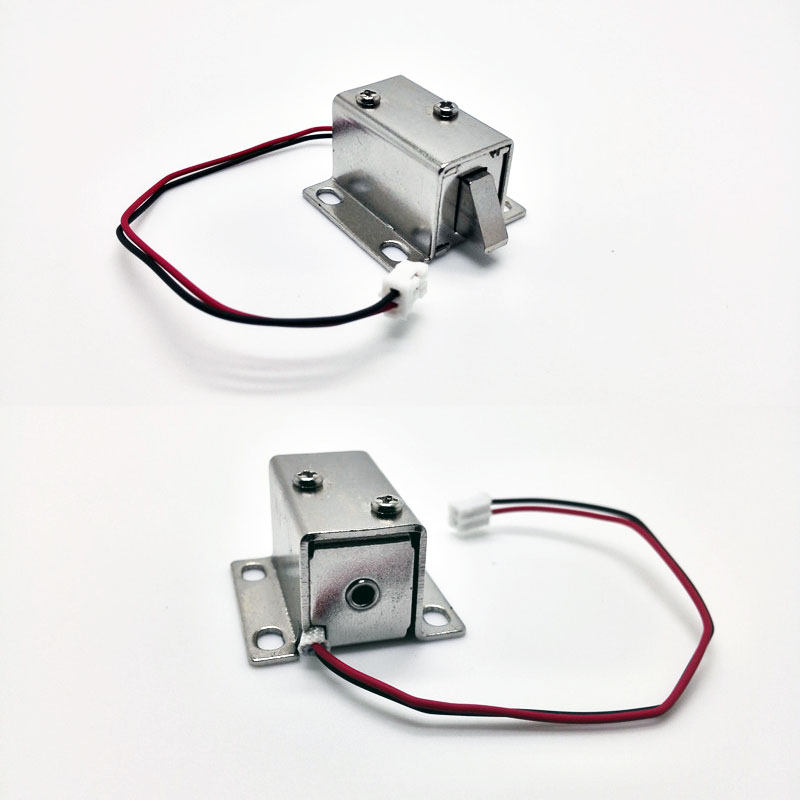 Mini Small Size Solenoid Electromagnetic Electric Control Cabinet Drawer Lock DC 12V(China (Mainland))