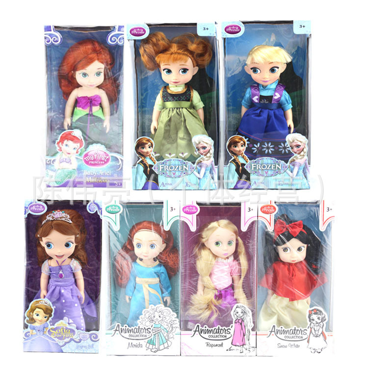 12 Inch Fashion doll Movie&TV Rapunzel princess doll toy princesa girls jouets brinquedos girl toys doll(China (Mainland))