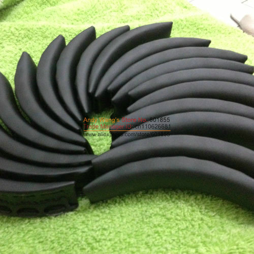Replacement head band cushion ear pads foam for beat studio headphones Black White to Choose 5pcs/lot best price(China (Mainland))