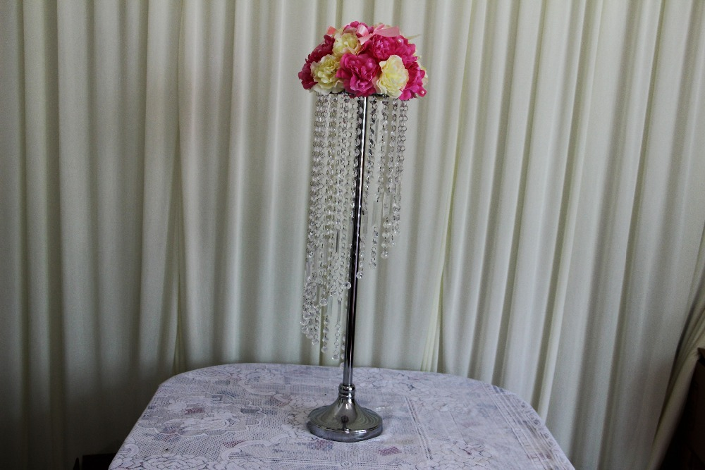 Free shipping pcs lots wedding chandelier flower stand