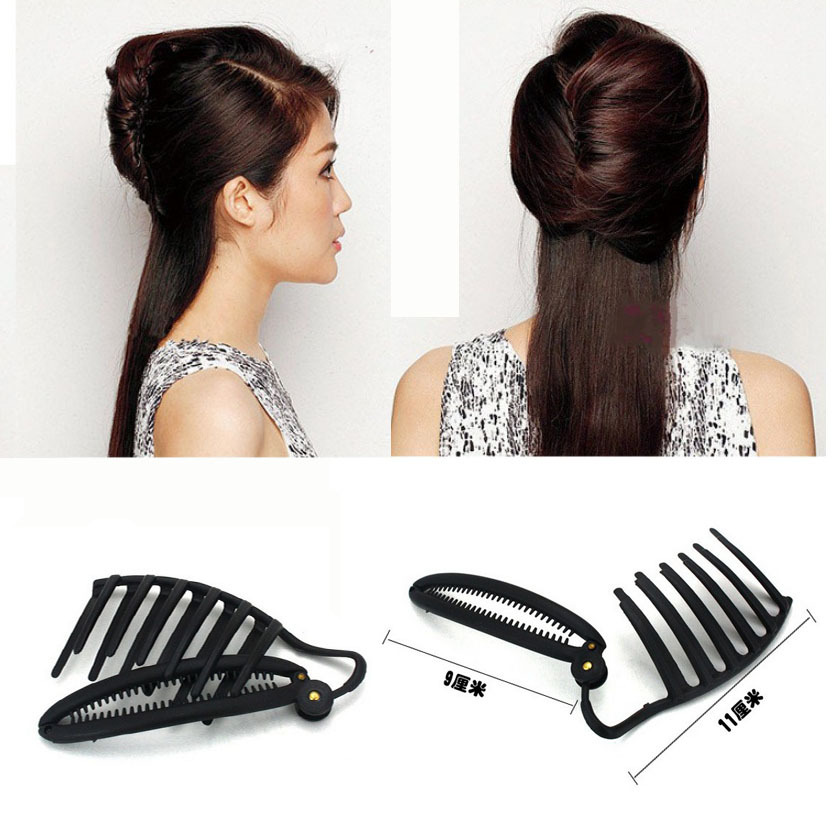 Fashion Flaxen Hair Tools Braiders Black Color French Twist Maker Styling Braiding Tool A5R29(China (Mainland))