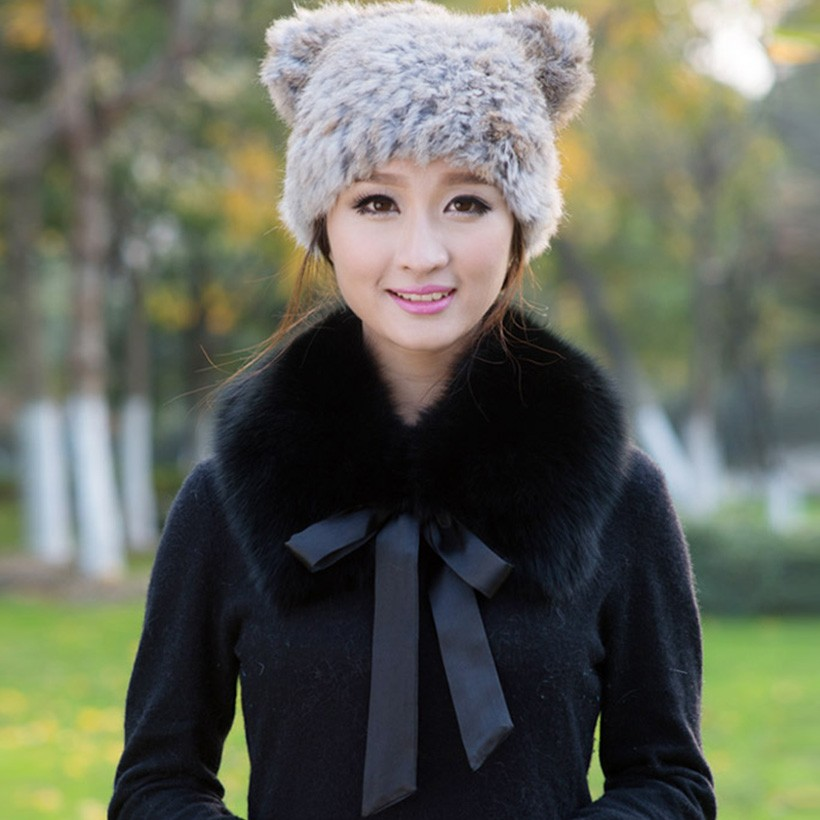 Cute ribbon bow knot real fox fur collar women black/white/coffee solid soft warm autumn winter short style ladies scarf shawls