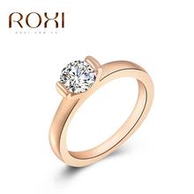 Luxusní dámský prstýnek ROXI s kamínkem z Aliexpress