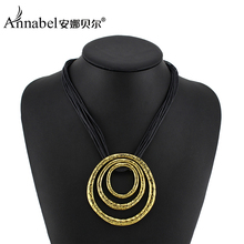Wholesale Vintage Jewelry Antique Gold Color Round Necklaces&Pendants 2013 Fashion Purple Statement Necklace for Women Sweater(China (Mainland))