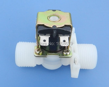 "12V Electric Solenoid Valve Magnetic DC N/C Water Air Inlet Flow Control 3/4""(China (Mainland))"