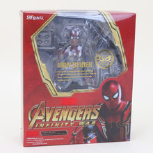 18 cm Thanos Maravilha Brinquedos SHFiguarts SHF PVC Action Figure the Avengers 3 INFINITO GUERRA Figura Collectible Modelo Toy Dolls moveable(China)